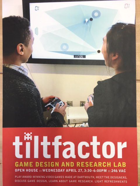Tiltfactor 2016 Spring Term Open House