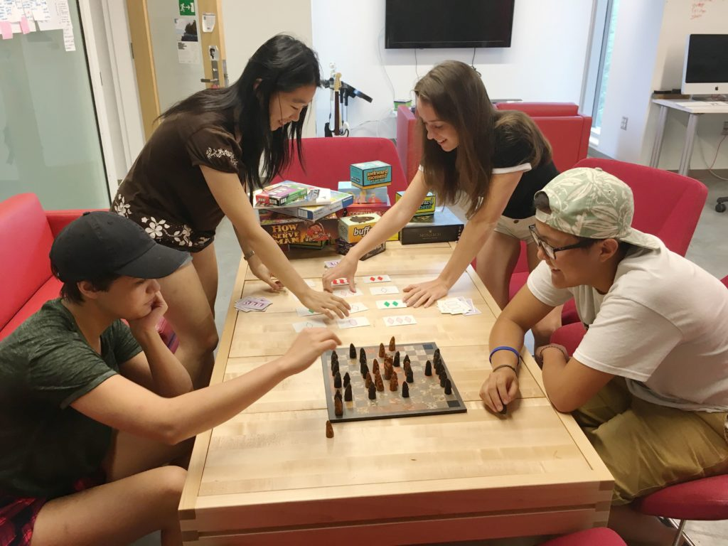 tiltfactor team playing tabletop games