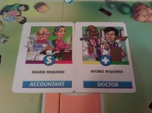 The Game Of Life Job Cards Tiltfactor | The Game ...