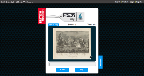 British Library's Ships Tag