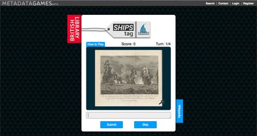 British Library's Ships Tag