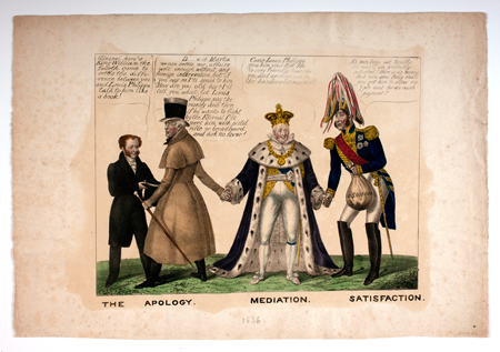 (political cartoon in 1836, from American Antiquarian Society collection)